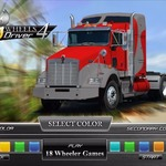 18 Wheels Driver – The professional drivers