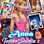 Anna Tattoo Studio 2 - Excellent game for girls at free friv