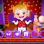 Baby Hazel Magic Show - A lovely witch