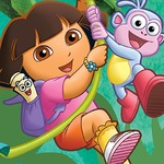 Dora Needs Tools - Who is the fastest in this exciting puzzle game?