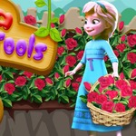 Elsa Garden Tools - Your dream garden at friv Games for girls!