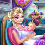 Frozen Elsa Birth Caring - Take care of Elsa's baby