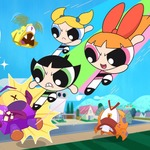 Power Puff Fight - Shoot down all the evil bats