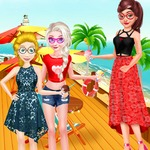 Princesses Summer Seaside Vacation
