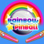 Rainbow Star Pinball - Cool action game at free friv