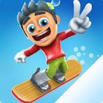 Snowy Skate : Snowboard