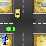 Spongebob Traffic Chaos - A noble task at frivgame